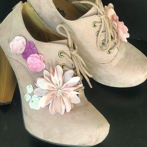 Hand Embellished (upcycled) Charlotte Russe Heels
